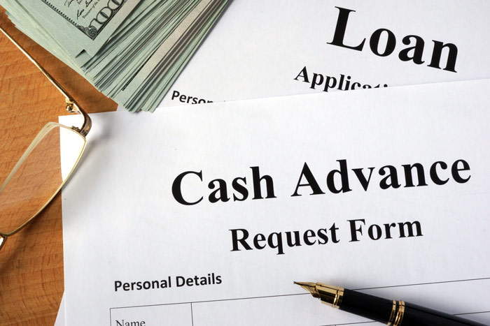 Where can a Podiatrist go for a cash advance?