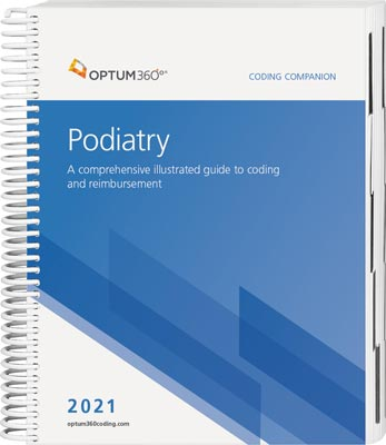 Podiatry Coding Companions for 2021 are out